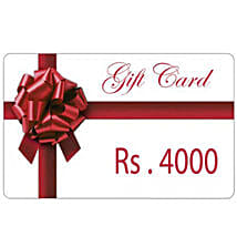 Gift Card 4000: Send Wedding Gifts to Vapi