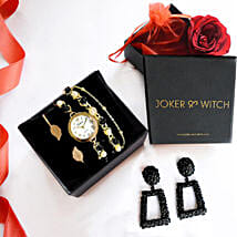 Gold & Black Love Stack: Buy Watches