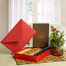 Good Luck with Assorted Sweets: Gifts for Bhai Dooj