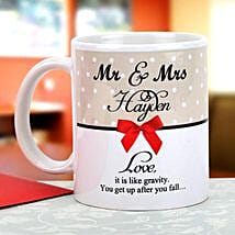 Gravity of love: Send Personalised Mugs to Chennai