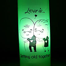 Growing Old Together Lamp: Home Decor to Hyderabad