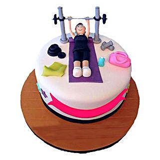 Gym Cake: Designer Cakes Ghaziabad