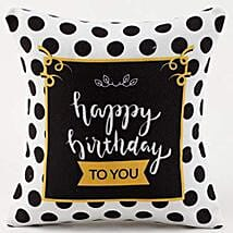 Happy Birthday Cushion: Gifts for Father in Law