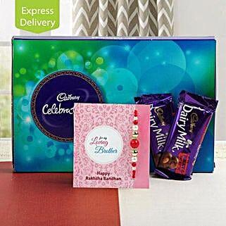 Happy Celebration: Rakhi With Chocolates Bestsellers