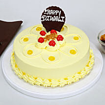 Happy Diwali Butterscotch Cake: Diwali Gifts for Girlfriend