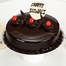 Happy Diwali Truffle Cake: Diwali Gifts for Girls/ GF