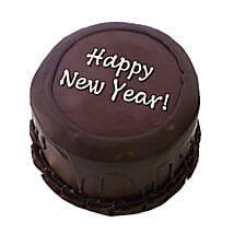 Happy New Year Chocolate Cake: Send Chocolate Cakes to Indore