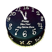 Happy New Year Countdown Fondant Cake: New Year Gifts for Him
