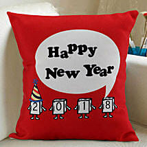 Happy New Year Cushion: New Year Gifts for Friend