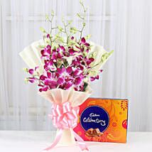 Heartly Combo: Send Anniversary Flowers to Chennai