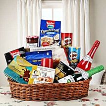 Hearty Sweet and Savory Basket: Send Romantic Gift Baskets