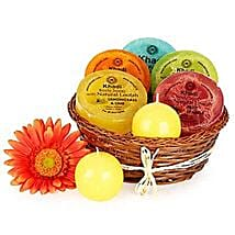 Heavenly Relaxing Soap Hamper: Gift Hampers Ghaziabad
