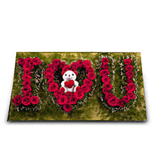 I Love You: Flowers & Teddy Bears for Propose Day