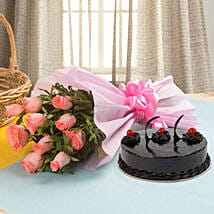 Illustrious Love Combo: Birthday Cakes Panchkula