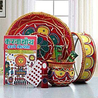 Karwa Chauth Thali Hamper: Karwa Chauth Gifts Bengaluru