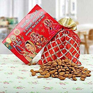 Katha Book N Almonds: Karwa Chauth Gifts Hyderabad