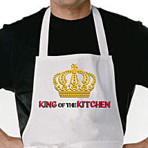 King Of The Kitchen Apron: Aprons Gifts