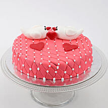 Kissing Birds Cake: Girlfriends Day Gifts to UAE