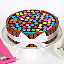 Kit Kat Cake: Send Valentines Day Cakes to Patna