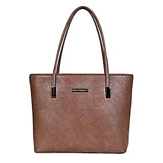 Lino Perros Brown Tote Bag: Buy Handbags