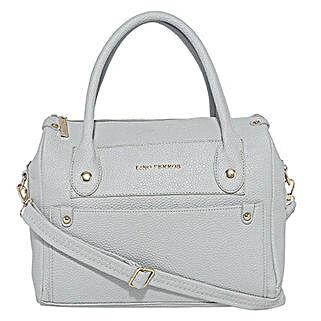Lino Perros Dazzling White Handbag: Buy Handbags