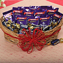 Loaded With Chocolates: Send Diwali Gift Baskets