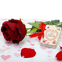 Love Booklet With Rose: Books