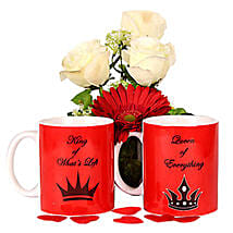 Love Is Fun Couple Mugs: Send Home Decor Gifts for Her