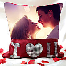 Love Special Personalized Cushion: Send Personalised Gifts to Gandhidham