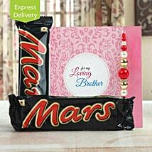 Love you to Mars and back: Rakhi With Sweets Bestsellers