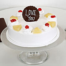 Love You Valentine Pineapple Cake: Cakes for anniversary