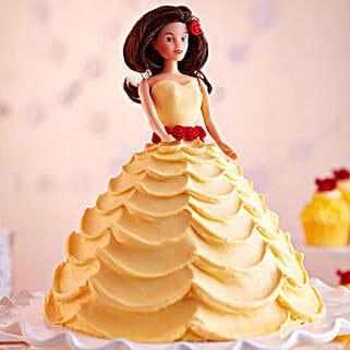 Lovely Barbie Cake: Birthday Gifts for Kids