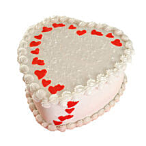 Lovely Heart Shape Cake: Cakes to Edappal