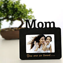 Lovely Mom Personalized Frame: Send Personalised Photo Frames to Gurgaon