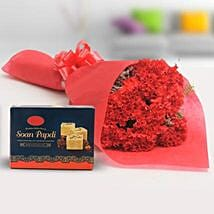 Luscious Combo: Send Flowers & Sweets to Gurgaon