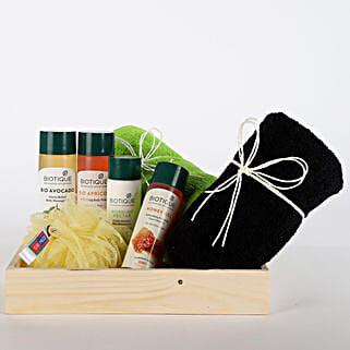 Luxurious Herbal Spa Hamper: Cosmetics & Spa Hampers - Birthday