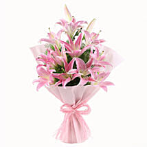 Luxurious Lillies: Send Flower Bouquets to Gurgaon