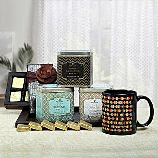 Luxury Tea Hamper: Valentines Day Gift Hampers