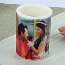 Me and You Personalized Candle: Gifts to Jhansi