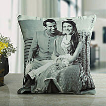 Memories Forever Personalized Cushion: Send Personalised Gifts to Gandhidham
