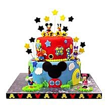 Mickey Mouse Clubhouse Cake: Cake Delivery in East Sikkim