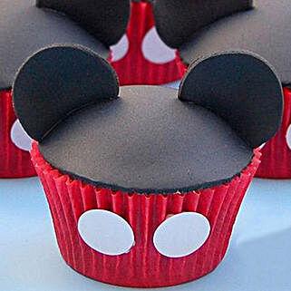 Mickey Mouse Mania Cupcakes: Cartoon Cakes