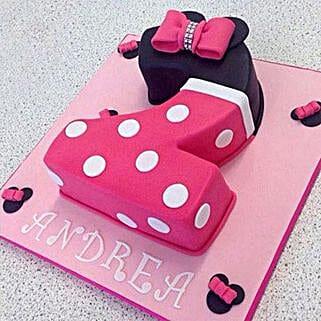 Minnie Love Cake: