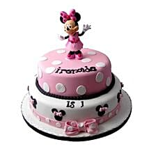 Minnie Mouse Birthday Cake: Designer Cakes to Ghaziabad