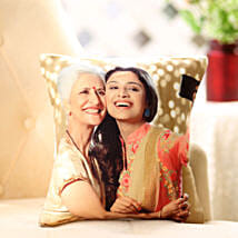 Mom n Me Personalized Cushion: Send Gifts to Anantnag
