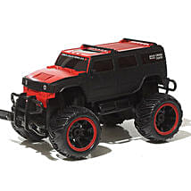Monster Truck In Red N Black: Remote Control Toys
