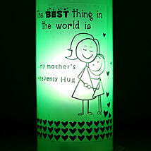 Mothers Hug Bottle Lamp: Send Home Decor to Gurgaon