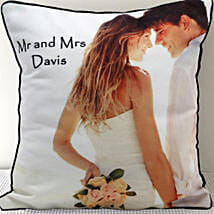 Mr n Mrs Personalized Cushion: Personalised Gifts Sikar