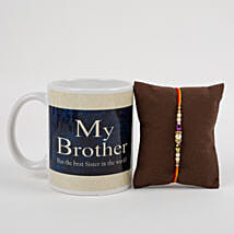 Mug With Beautiful Rakhi: Rakhi to Firozabad