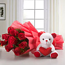 My Beary Love: Flowers & Teddy Bears - Love